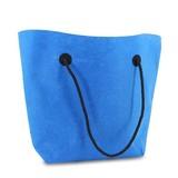 50 x  Luxus Filz Tragetaschen 37/47 x 33 + 8 cm., Blue