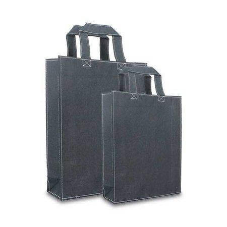 100 x ZEROTREE® Taschen 20 + 8 x 26 cm., schwarz