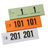 Nummerblokjes 1-1000 - Set van 10 boekjes