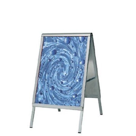 Werbeaufsteller, Alu, 70x100cm