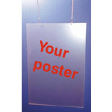 Preiskartenhülle vertikal für 420x594 mm