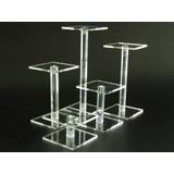 Säulen, transparentem Plexiglas, 5cm