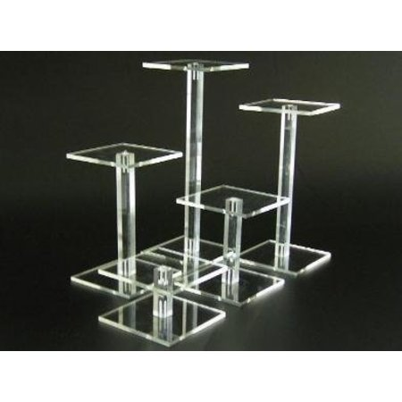 Säulen, transparentem Plexiglas, 10cm