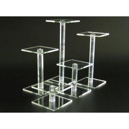 Säulen, transparentem Plexiglas, 20cm