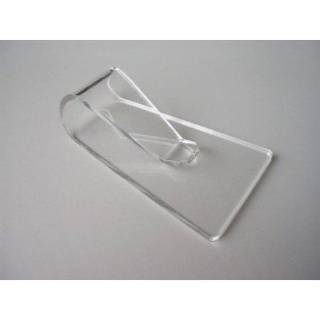 Sohlenzeiger, transparentem Plexiglas, Herrenmodell