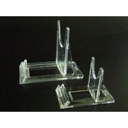 Verstellbarer Kartenständer, transparentem Plexiglas, 6x10cm