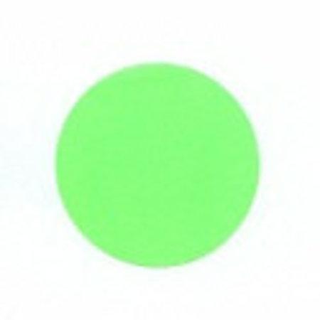Runde Neonaufkleber, neongrün, 25mm.