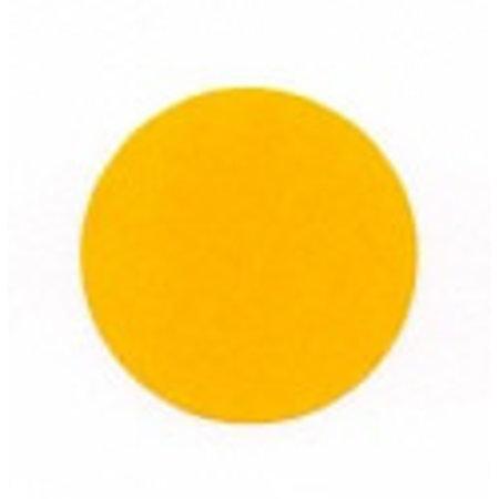 Runde Neonaufkleber, neonorange, 35mm.
