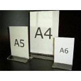 Menükartenständer - A6 - Acryl