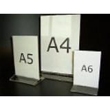 Menükartenständer - A4 - Acryl