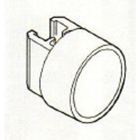 Rahmenhalter. Mit rundem Magnet