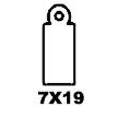 Apli-Auszeichnungsetiketten, 7x19mm, 1000x weiß