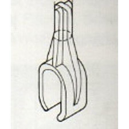 Plakathalter, für Oval-Rohr 35x20