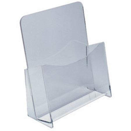 Prospekt-Ständer, transparent, A5