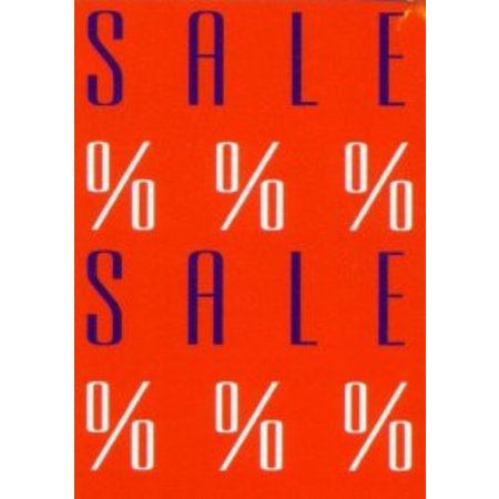 Plakat SALE %%% SALE, 48x70 cm