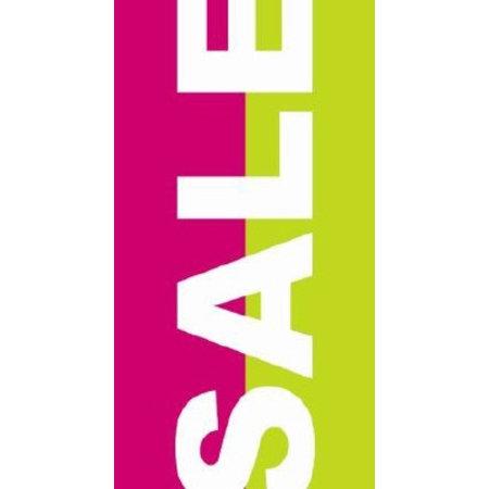 Langbahn Sale rosa+grün, Grösse 50 x 94 cm