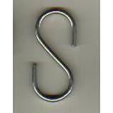 S-Haken, 36mm rostfreiem Stahl, VE 50 Stück, 30mm