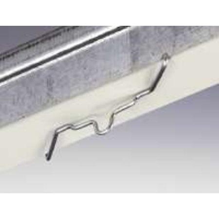 System-Clip, Z-Modell, VE 100 Stück, galvanisiert