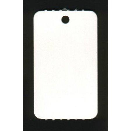 Anschießetiketten mit Öse, auf Rolle, Blanko, o. Perfo 25x42 2000