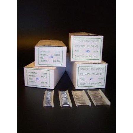 Plastikfäden, Nylon, pro 5.000 Stück, 25mm standard