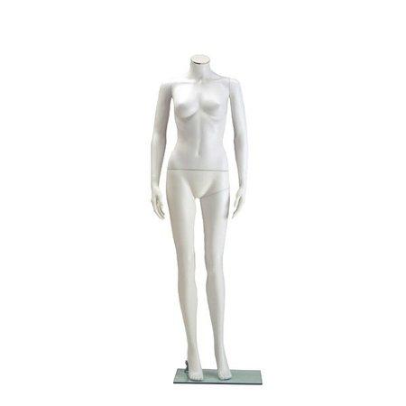 Schaufensterpuppe Damen, weiß (40328)