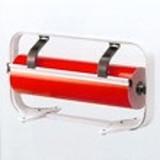 Tisch Folie-abroller, basisgerät, 100 cm, grau