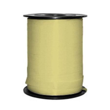 1 x Kräuselband 5 mm x 500 mtr., hellgelb
