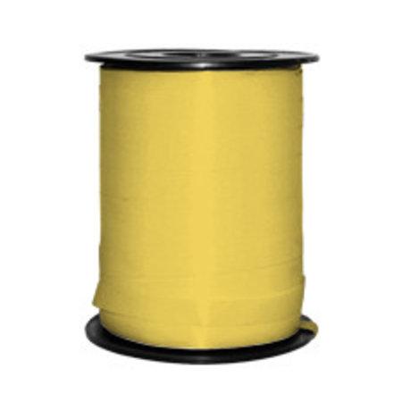 1 x Kräuselband 5 mm x 500 mtr., gelb