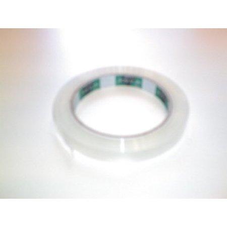 Klebeband für Beutelschließer 12 mm Transparent