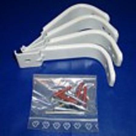 Wandbügel-Set für Basisgerät, grau