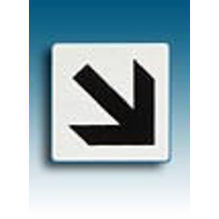 Piktogramm Pfeil diagonal