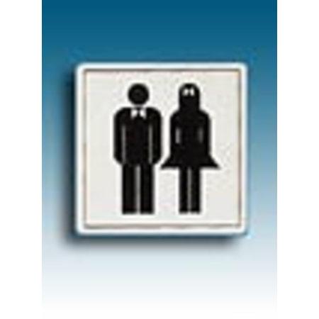 Piktogramm WC Damen und Herren