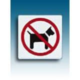 Piktogramm Verbot für Hunde
