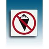Piktogramm Verbot Essen