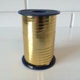 Kräuselband 5 mm, Glänzend Gold 250 meter / Rolle