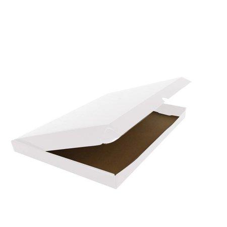 50 x Versandkartons mit abdeckung  30,5 x 41,5 + 8,5 cm.., Weiss