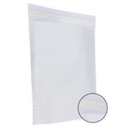 250 x Papierversandbeutel  48 x 37 + 12 cm., weiß