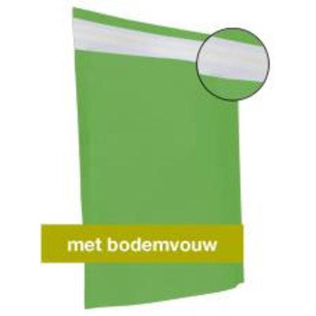2250 x Papierversandbeutel 30 x 36 + 8 cm.,grün