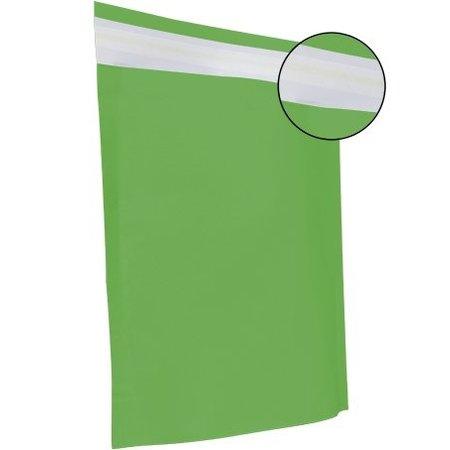 250 x Papierversandbeutel  48 x 37 + 12 cm., grün