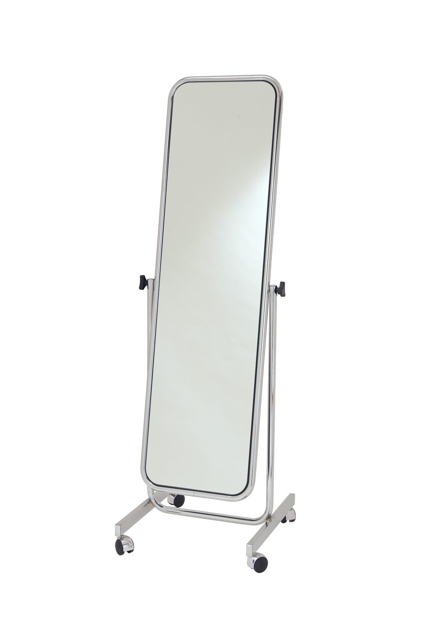 Standspiegel und Umkleidekabinen