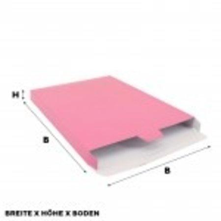 50 x Versandkartons 24 x 2,9 x 35 cm. ,Pink