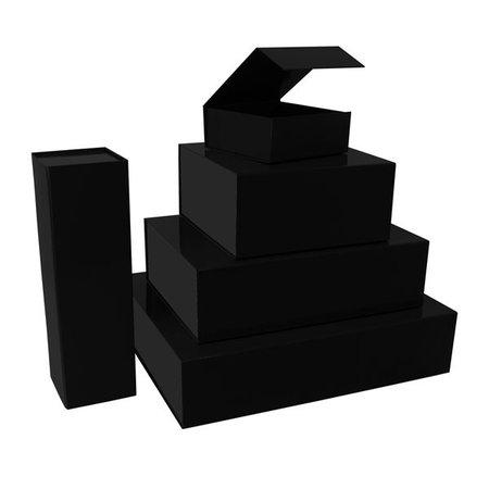 25 x Magnetfaltschachtel Schwarz