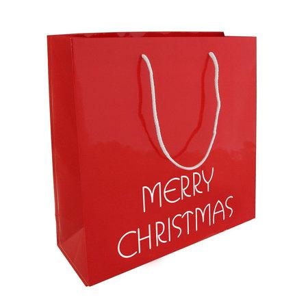 100 x Merry Christmas Papiertragetasche 26 + 10