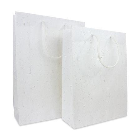 100 x ZEROTREE® Taschen 30,5 +10 x 40,5 cm., Stroh