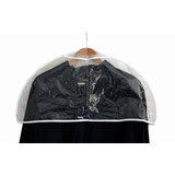 Schulterschutzhülle 60 cm breit, transparent