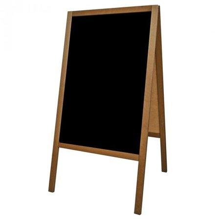 Holz-Aufsteller - Kundenstopper H100 x B60 cm