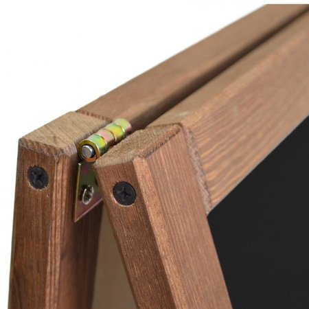 Holz- Aufsteller - Kundenstopper - H118 x B61 cm