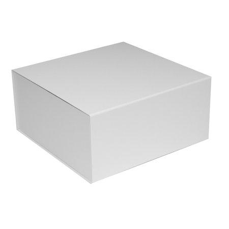 25 x Magnetfaltschachtel Weiss
