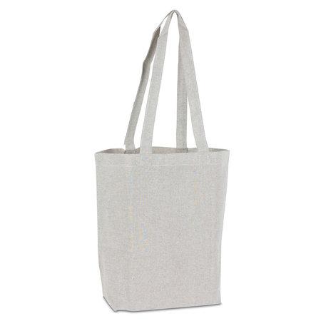 100 x Recycelte Baumwolltaschen - Grau
