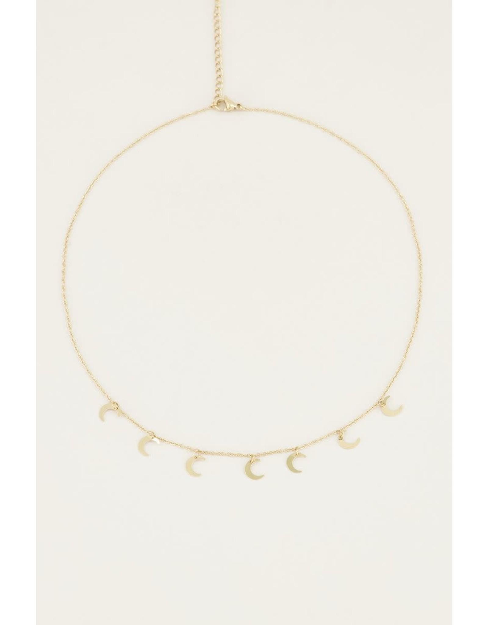 My Jewellery Ketting kleine maantjes
